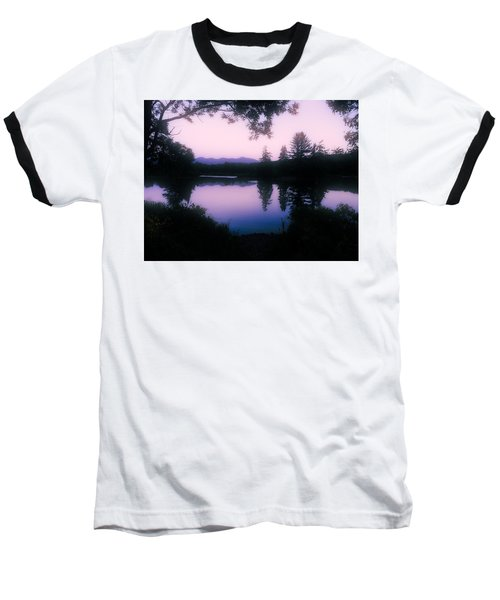 Baseball T-Shirt featuring the photograph Summer Evening In New Hampshire by Robin Regan