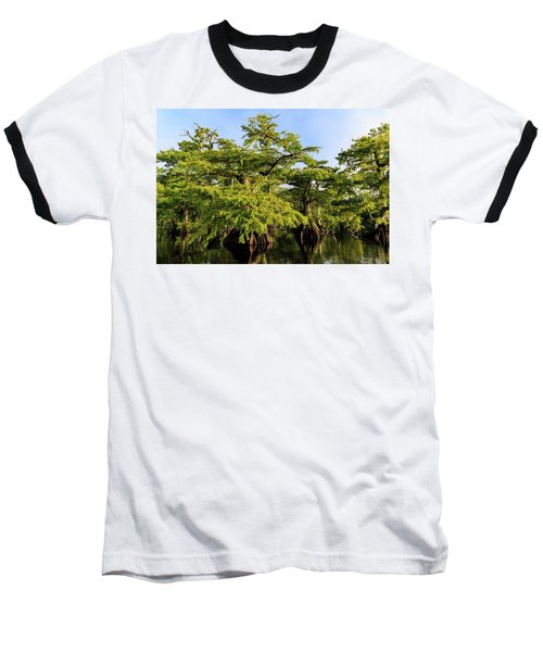 Summer Greens Baseball T-Shirt