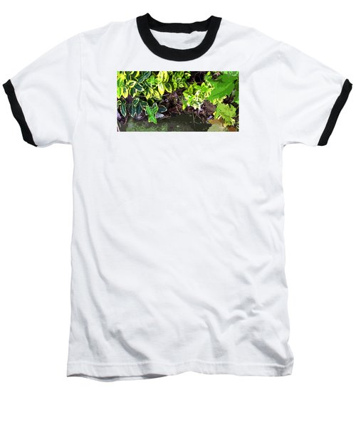 Summer Leaves Baseball T-Shirt