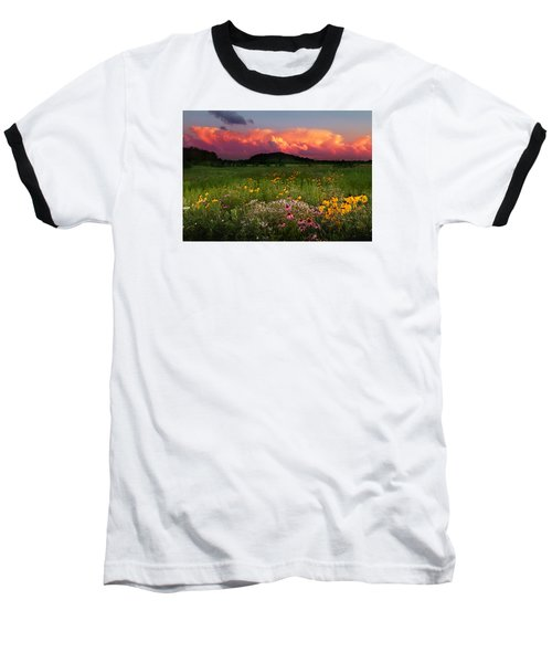 Summer Majesty Baseball T-Shirt by Rob Blair