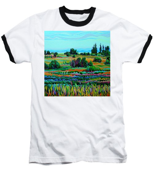 Summer Meadow Dance Baseball T-Shirt