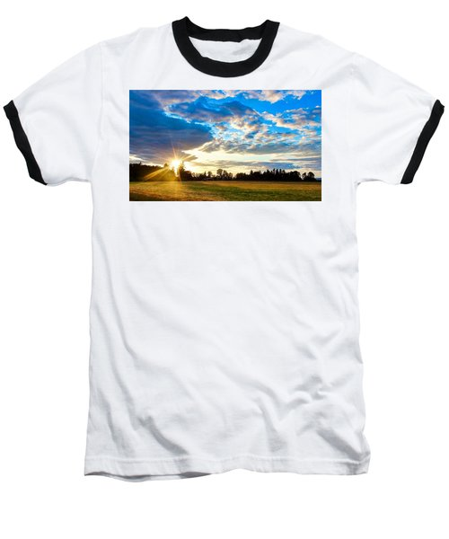 Summer Skies Baseball T-Shirt