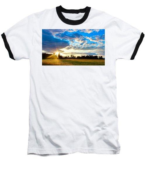 Summer Skies Baseball T-Shirt
