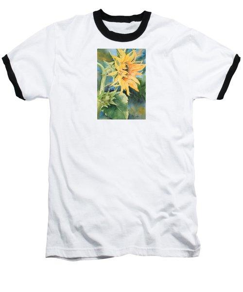 Summer Sunflower Baseball T-Shirt