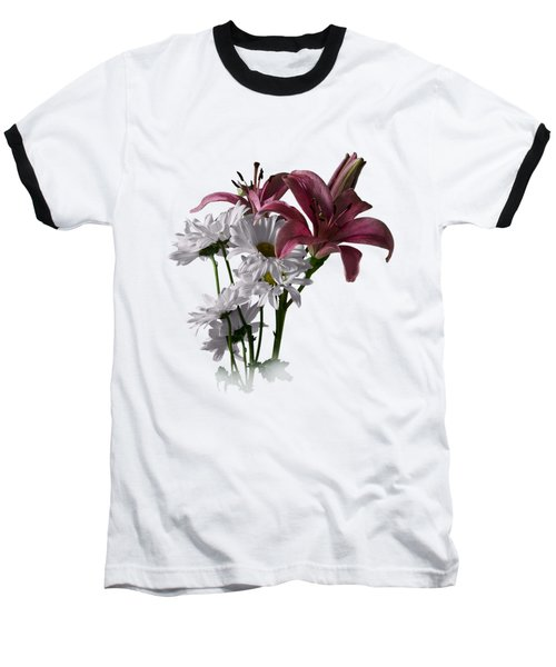 Summer Wild Flowers Clothing Baseball T-Shirt