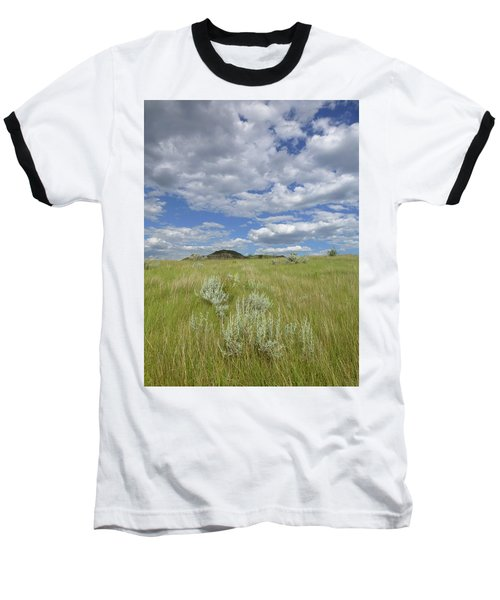 Summertime On The Prairie Baseball T-Shirt