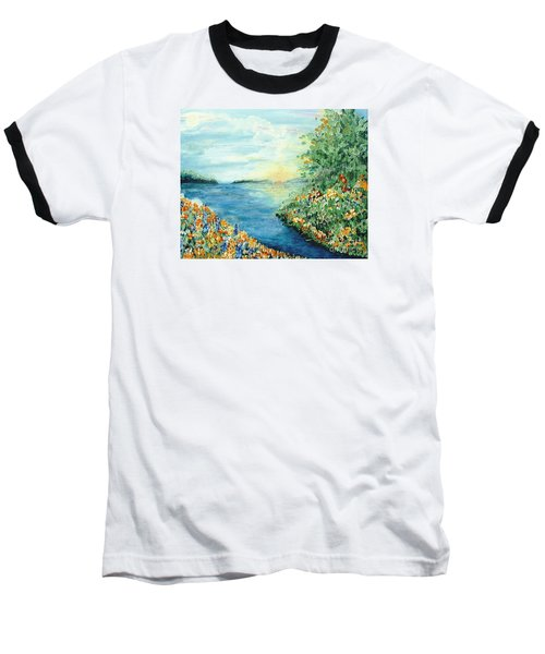 Sun And Moon Baseball T-Shirt