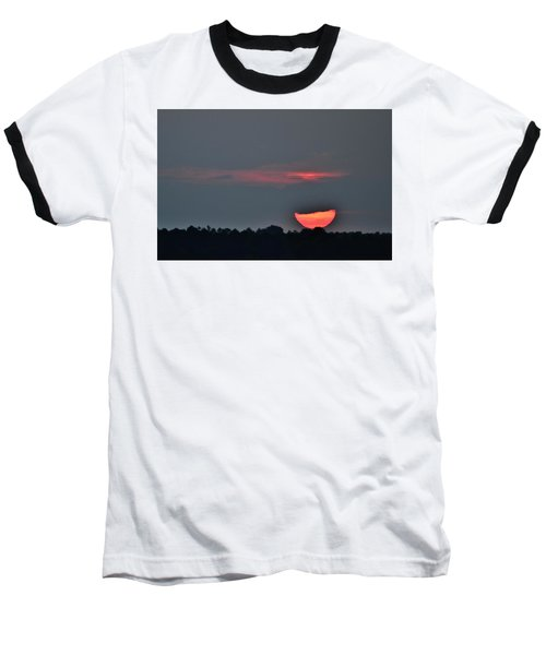 Sun Going Down Baseball T-Shirt