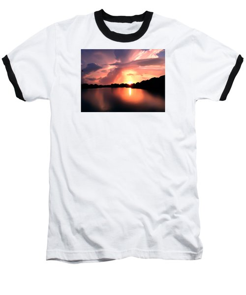 Sunburst At Edmonds Washington Baseball T-Shirt