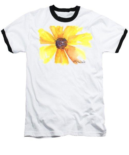 Sunburst Baseball T-Shirt by Kathleen McElwaine