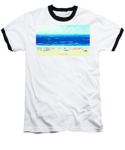 Sunday At Bondi Baseball T-Shirt