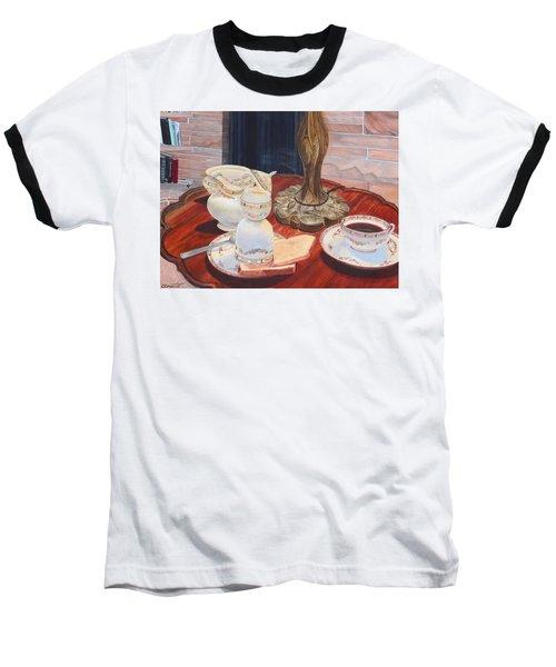 Sunday Breakfast Baseball T-Shirt
