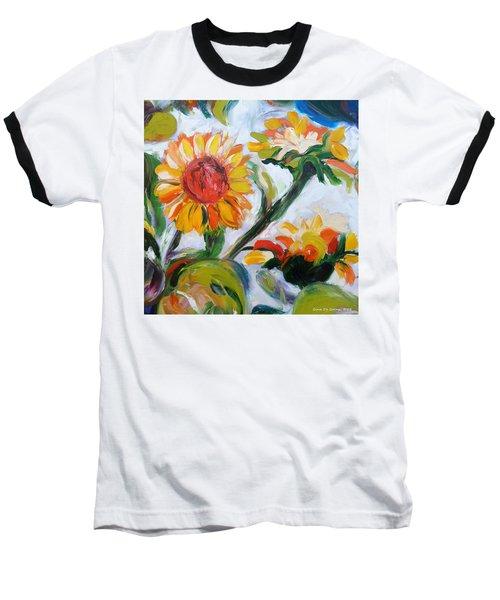 Sunflowers 5 Baseball T-Shirt