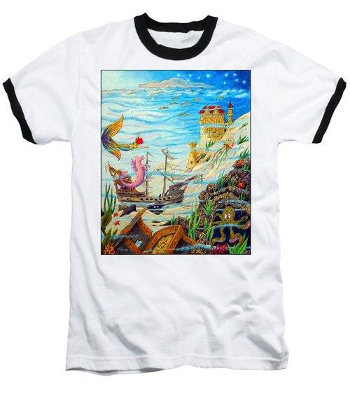 Sunken Ships Baseball T-Shirt