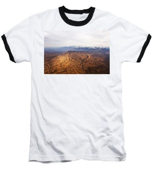 Sunlight And Snow-capped Peaks Baseball T-Shirt