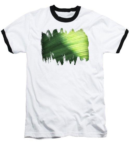 Sunlit Palm Baseball T-Shirt by Anita Faye