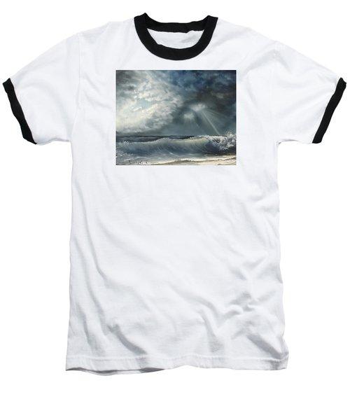 Sunlit Sea Baseball T-Shirt