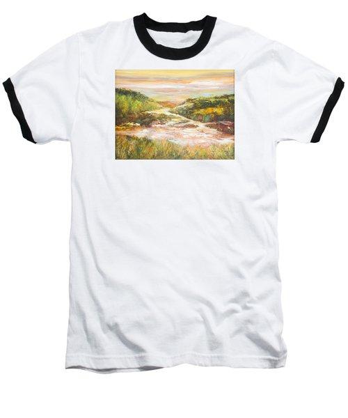 Sunlit Stream Baseball T-Shirt