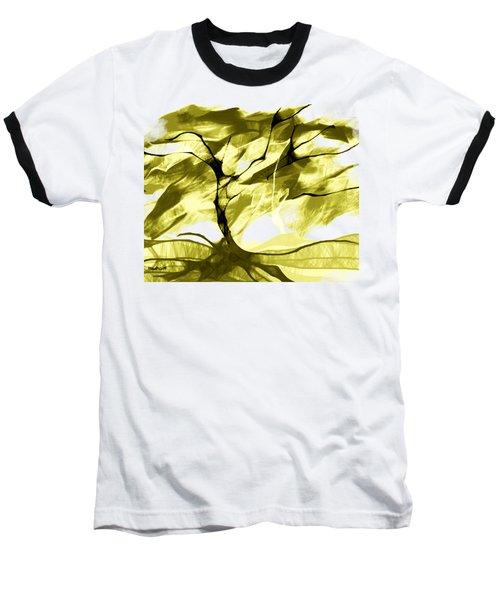 Baseball T-Shirt featuring the digital art Sunny Day by Asok Mukhopadhyay
