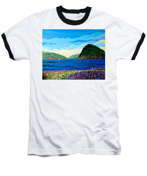Sunny Swiss-scape Baseball T-Shirt