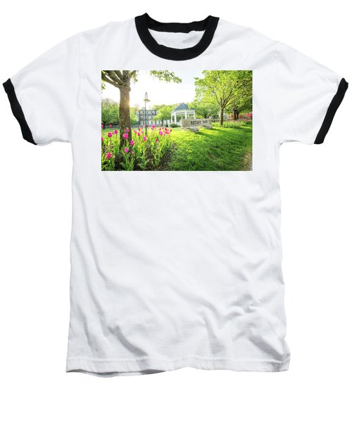 Sunrise At Rotary Park Baseball T-Shirt