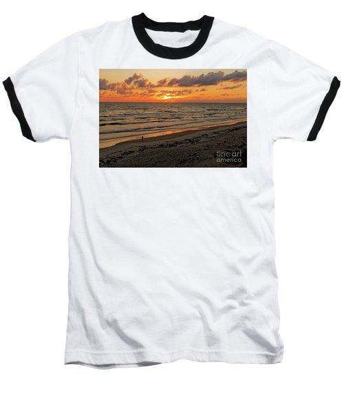 Sunrise Daytona Baseball T-Shirt by Paul Mashburn