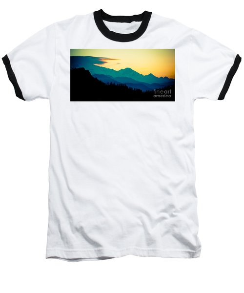 Sunrise In Himalayas Annapurna Yatra Himalayas Mountain Nepal Poon Hill Baseball T-Shirt