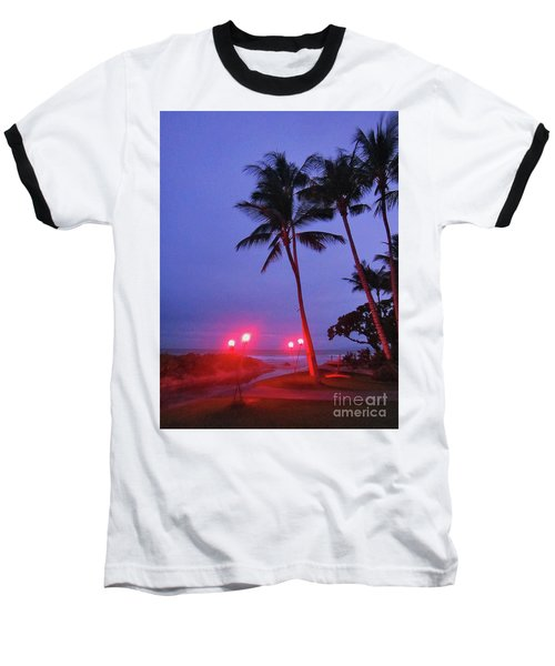 Sunrise Ocean Pathway Baseball T-Shirt