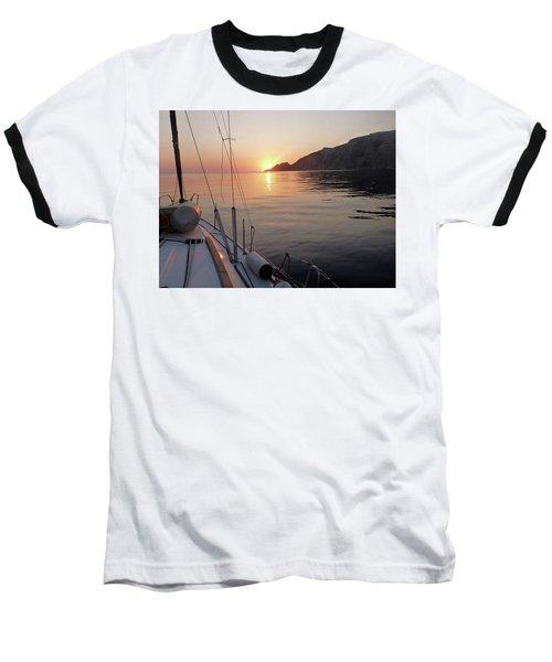 Sunrise On The Aegean Baseball T-Shirt