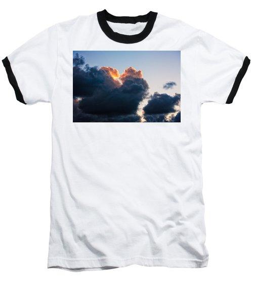 Sunrise On The Atlantic #10 Baseball T-Shirt