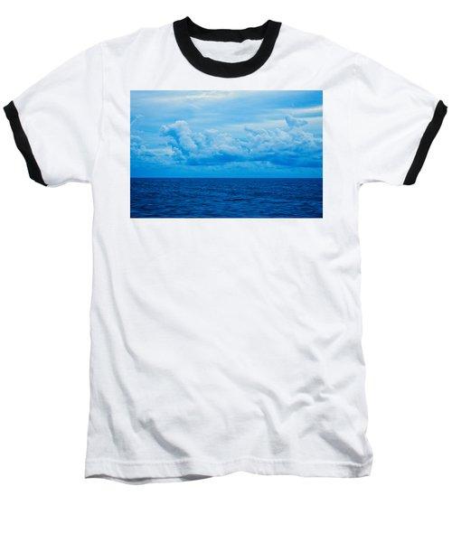 Sunrise On The Atlantic #27 Baseball T-Shirt