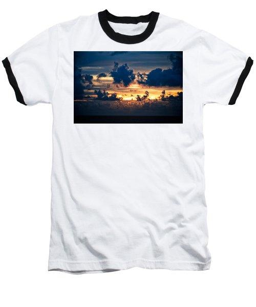 Sunrise On The Atlantic #28 Baseball T-Shirt