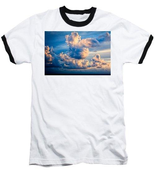 Sunrise On The Atlantic #31 Baseball T-Shirt