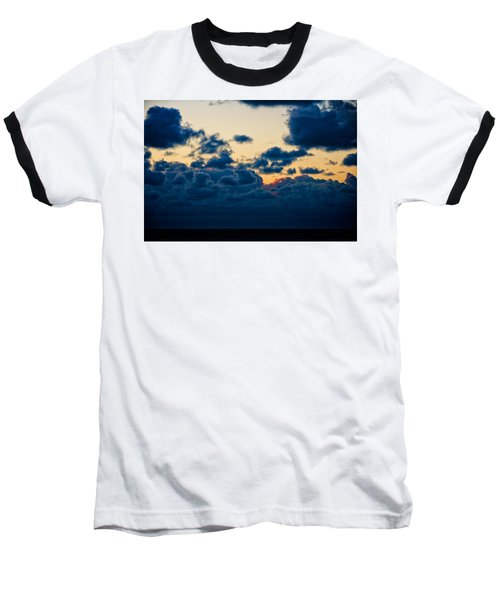 Sunrise On The Atlantic #5 Baseball T-Shirt