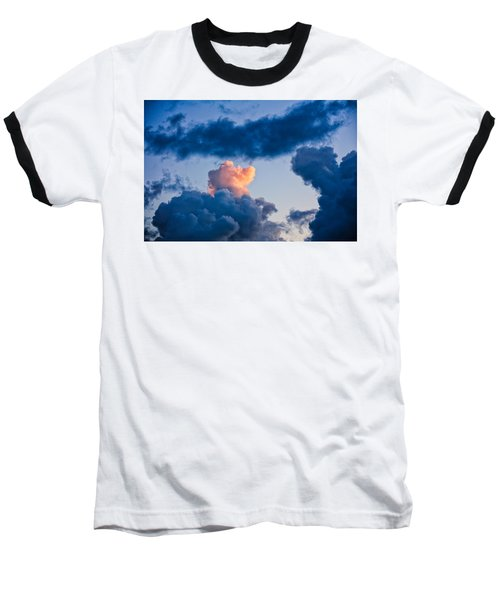 Sunrise On The Atlantic #6 Baseball T-Shirt