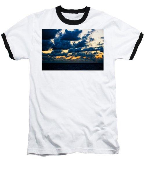 Sunrise On The Atlantic #7 Baseball T-Shirt