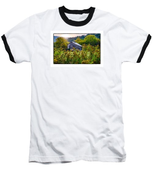 Sunrise On The Farm Baseball T-Shirt by R Thomas Berner
