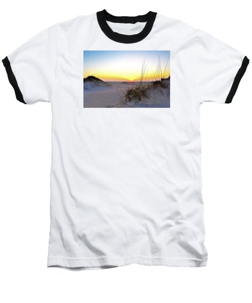 Sunrise Over Pea Island Baseball T-Shirt