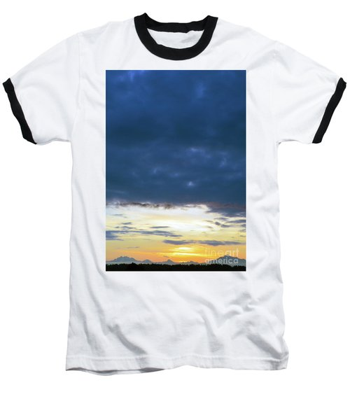 Sunrise Over The Cascades Baseball T-Shirt