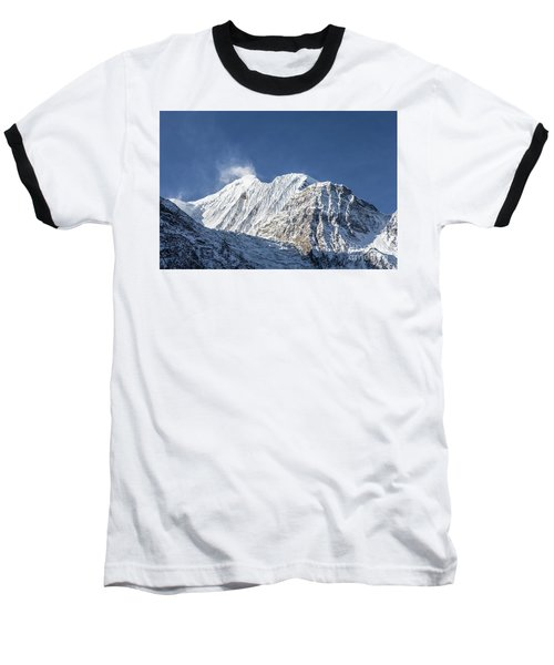 Sunrise Over The Gangapurna Peak At 7545m In The Himalayas In Ne Baseball T-Shirt