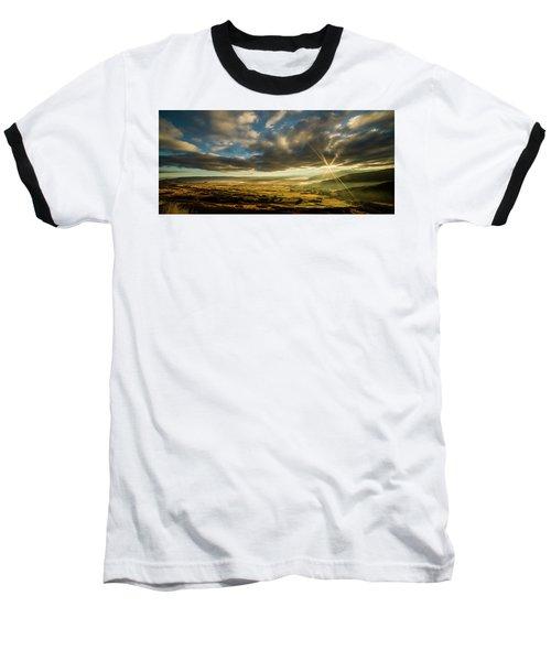 Sunrise Over The Heber Valley Baseball T-Shirt