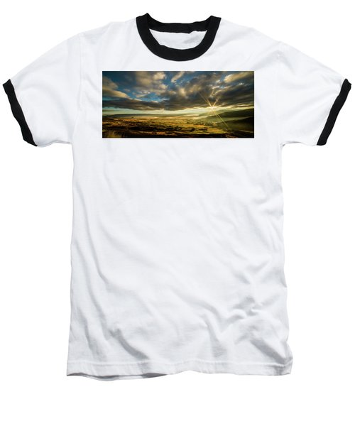 Sunrise Over The Heber Valley Baseball T-Shirt
