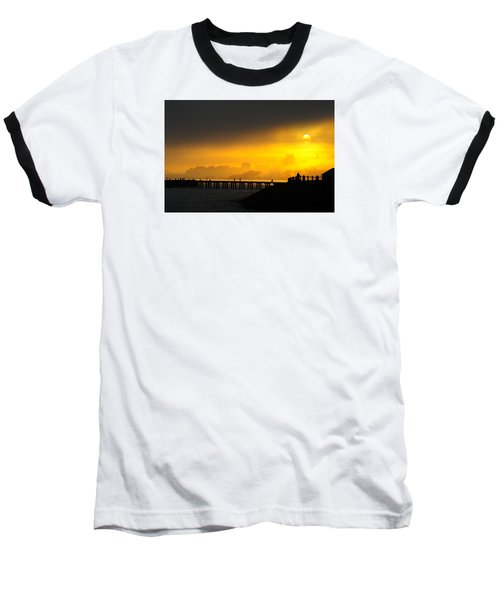 Baseball T-Shirt featuring the photograph Sunrise San Francisco by Steve Siri