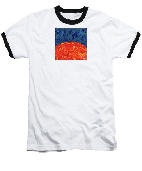 Sunrise Sunset 2 Baseball T-Shirt
