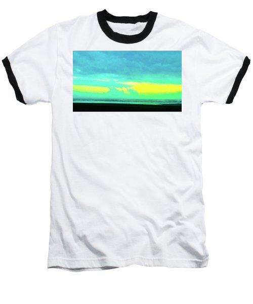 Sunset #8 Baseball T-Shirt