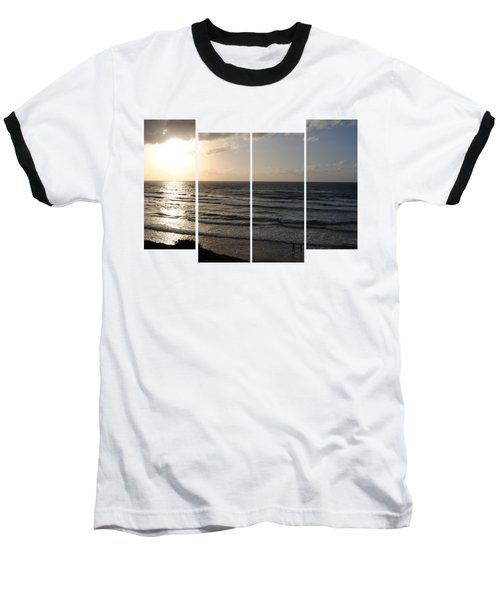 Sunset At Jaffa Beach T-shirt 2 Baseball T-Shirt