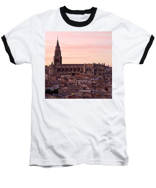 Sunset At Toledo Baseball T-Shirt