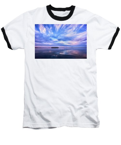 Sunset Awe Baseball T-Shirt