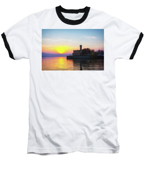 Sunset Colors Baseball T-Shirt