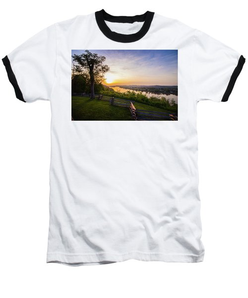 Sunset From Boreman Park Baseball T-Shirt